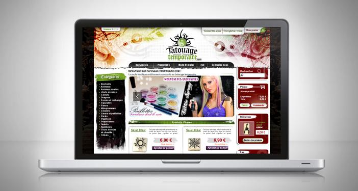 Création webdesign prestashop